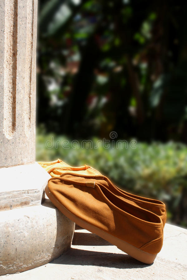Monk Shoes Royalty Free Stock Photography