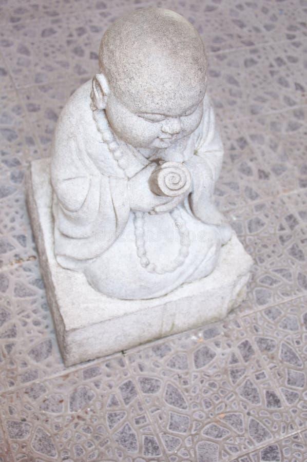 Free Monk Stone Statue Stock Photos - 18402773