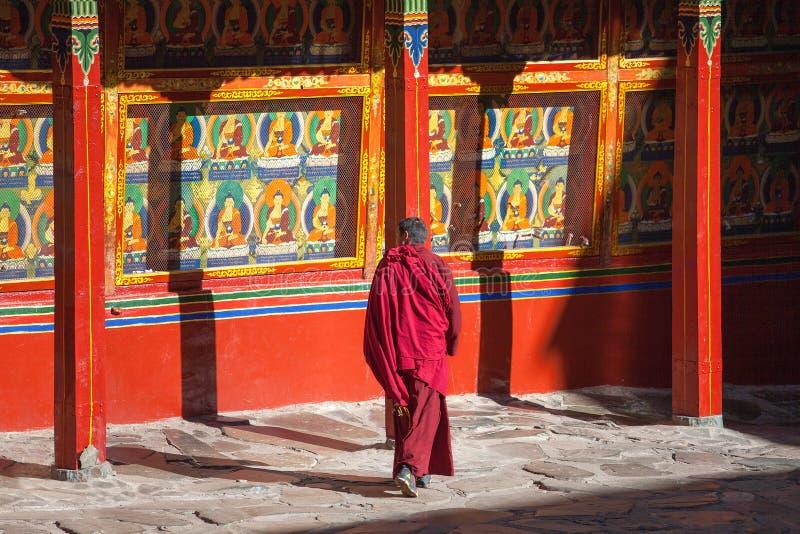 Tashilhunpo Monastery, Tibet stock photo