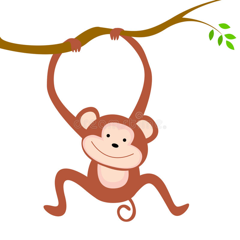 Monkey stock illustration