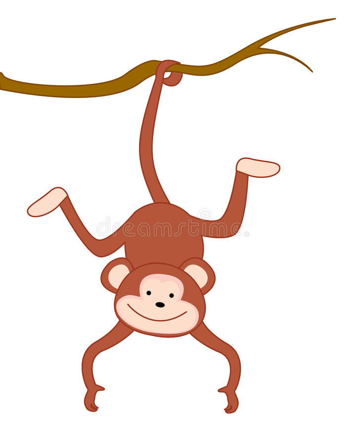 Monkey stock illustration
