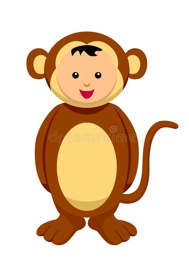 Download Monkey stock vector. Illustration of outfit, character - 19697368
