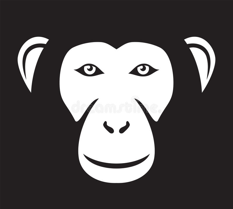 Download Monkey stock vector. Image of icon, female, mammal, animal - 29303962