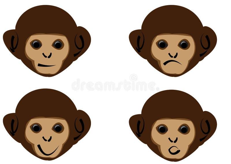 Download Monkey stock vector. Image of look, monkey, brown, mammal - 7473783
