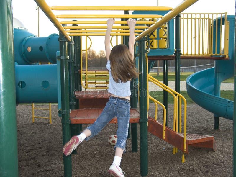 Download Monkey Bars stock photo. Image of bars, schoolyard, outdoor - 102126