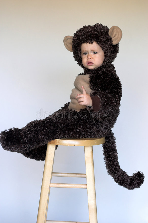 Download Monkey Boy stock image. Image of rosy, flawless, looking - 3392747
