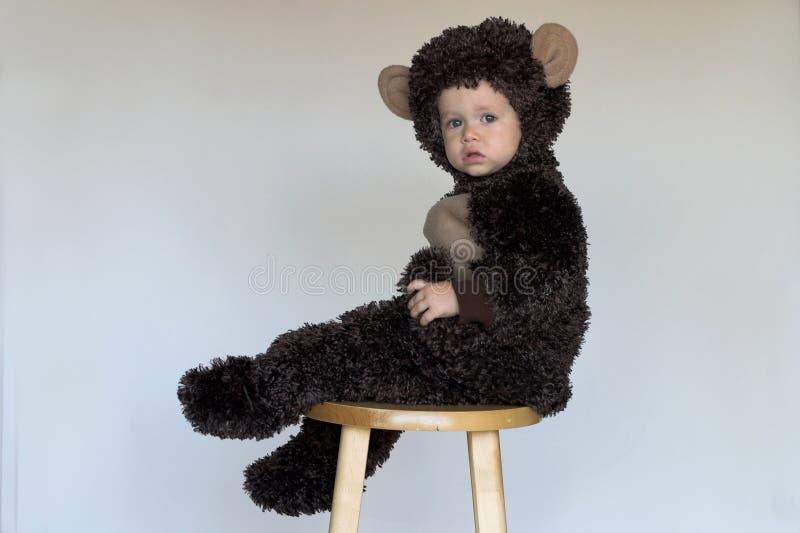 Monkey Boy royalty free stock photo