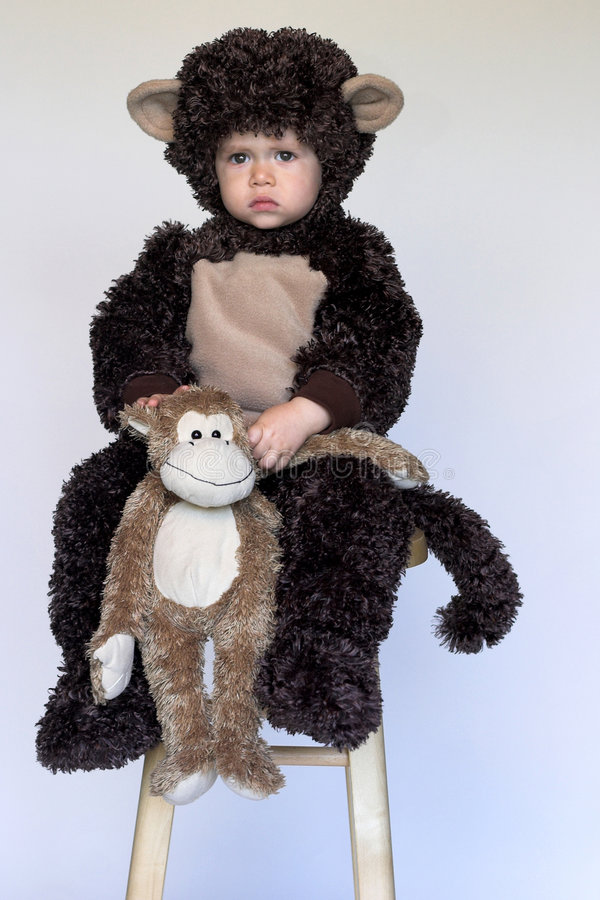 Free Monkey Boy Stock Photo - 3392870