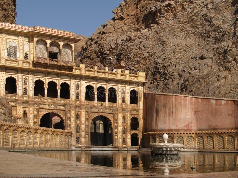Monkey el templo en Jaipur foto de archivo