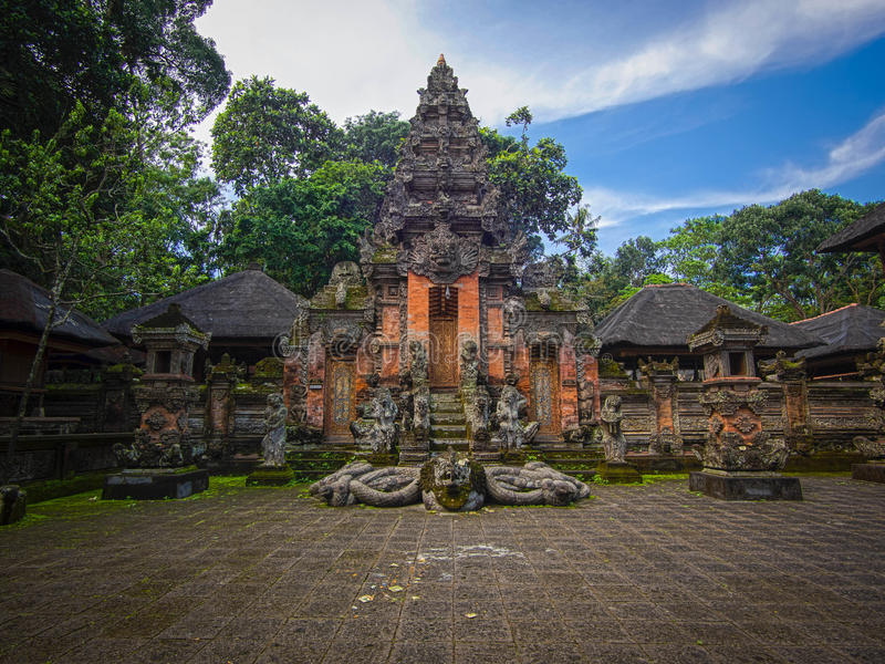 Download Monkey Forest Temple In Ubud, Bali Stock Image - Image: 34891775