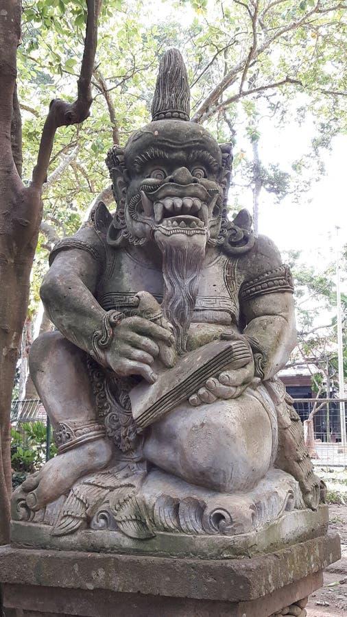 Monkey forest ubud stock photo