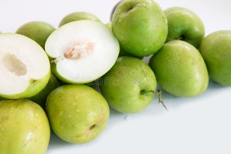 Monkey o fruto doce da maçã do doce de Tailândia como a maçã verde imagens de stock