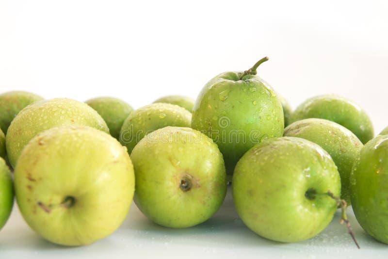 Monkey o fruto doce da maçã do doce de Tailândia como a maçã verde imagem de stock royalty free