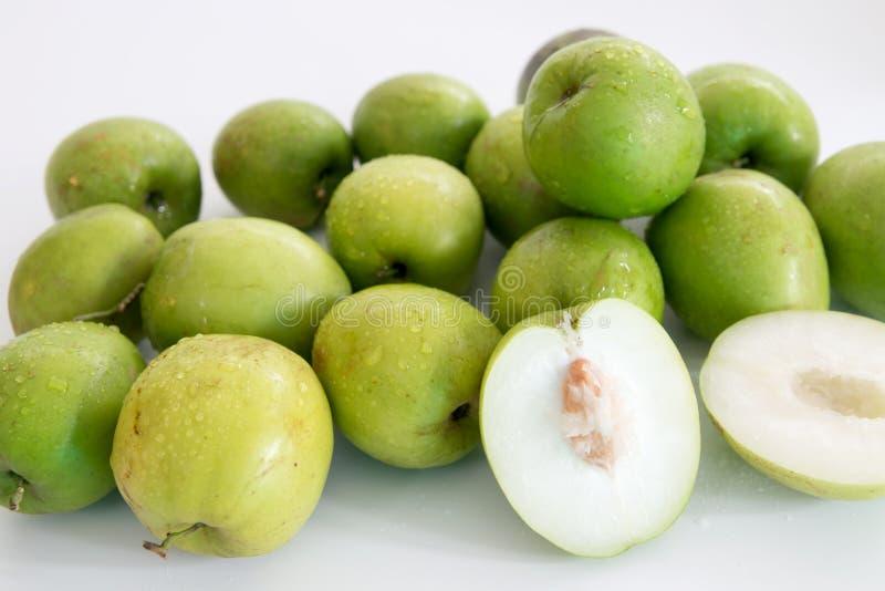 Monkey o fruto doce da maçã do doce de Tailândia como a maçã verde imagens de stock royalty free