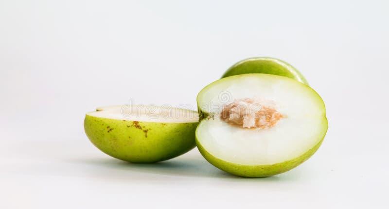 Monkey o fruto doce da maçã do doce de Tailândia como a maçã verde imagem de stock