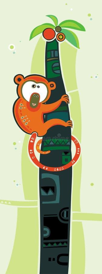 Free Monkey On Palm Royalty Free Stock Photo - 3582335