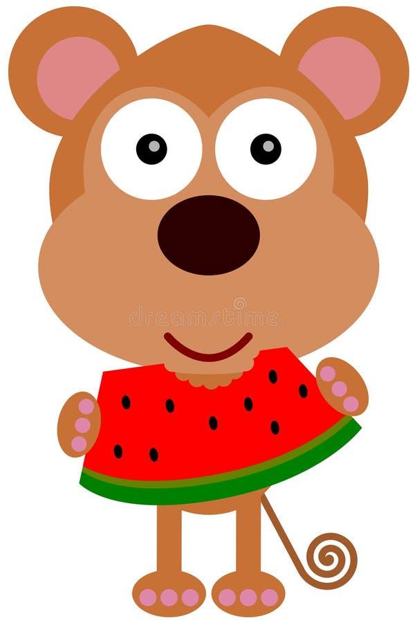 Free Monkey S Watermelon Royalty Free Stock Image - 32059726