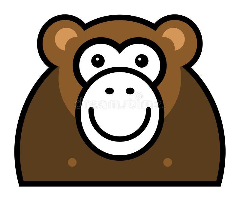 Monkey Sign Royalty Free Stock Photography