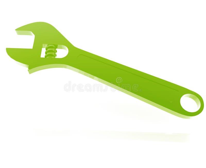Download Monkey wrench illustration stock illustration. Image of monkey - 9602574