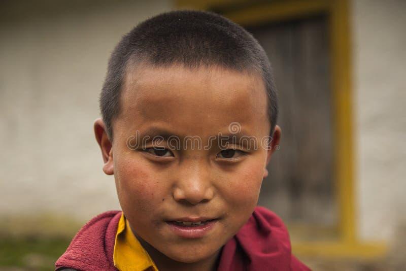 monks royaltyfri bild