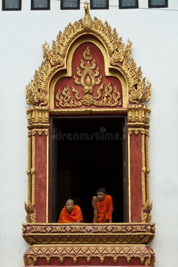Free Monks At Window Stock Photos - 18850303