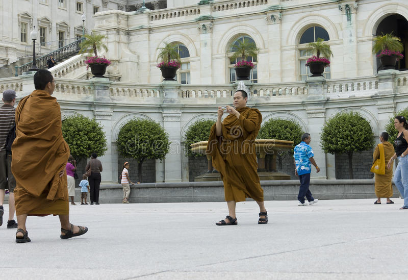 Monks Buddhists Editorial Photography