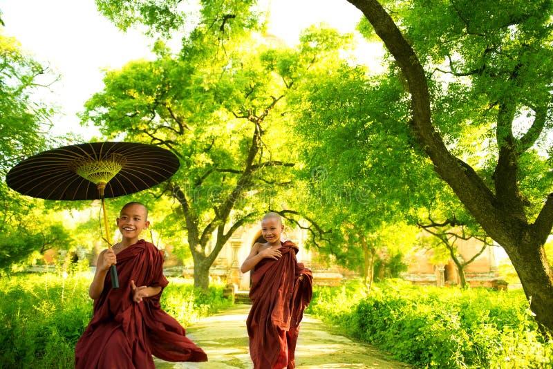 Monks stock photo