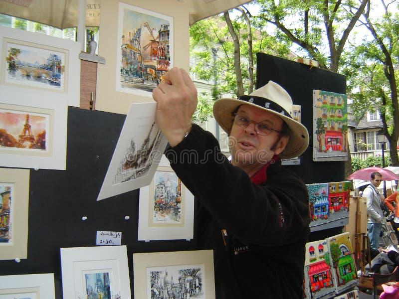 Monmartre, Parijs stock fotografie