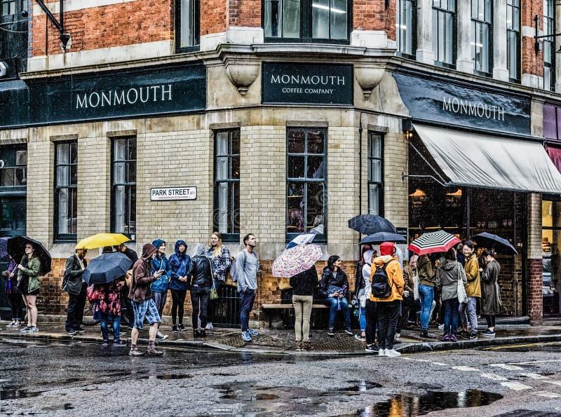 Monmouth Coffee Company photo libre de droits
