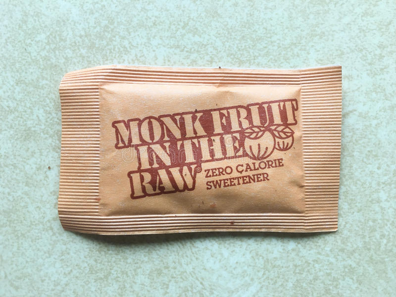 Monnik Ruw Fruit In The royalty-vrije stock afbeeldingen