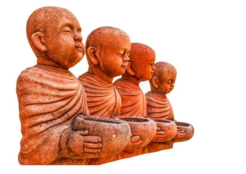 Monnik Statue royalty-vrije stock afbeeldingen