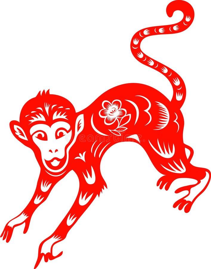 Mono ilustración del vector
