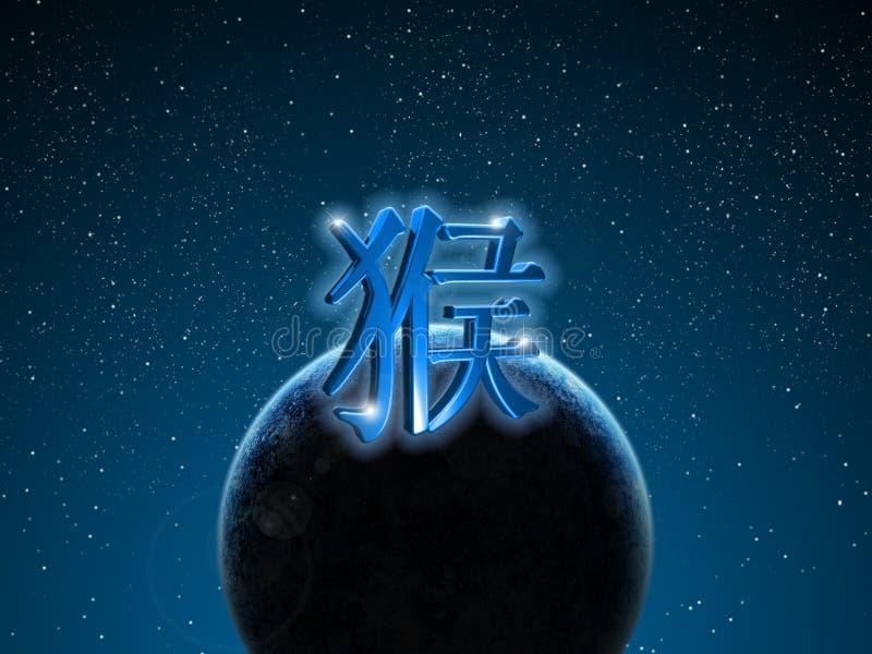 Mono chino del zodiaco fotos de archivo libres de regalías