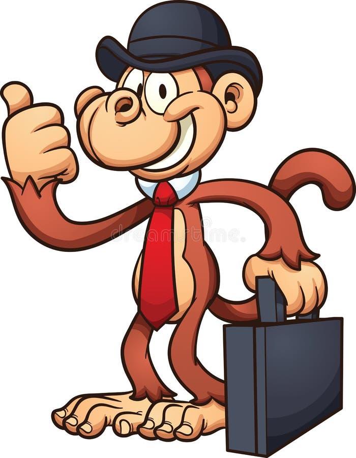 Mono del trabajador libre illustration