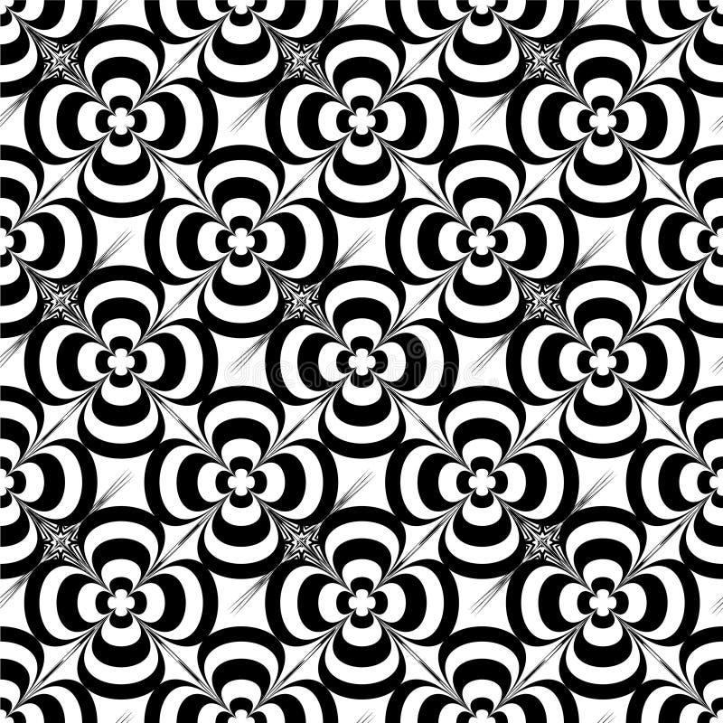 Mono flower vector illustration