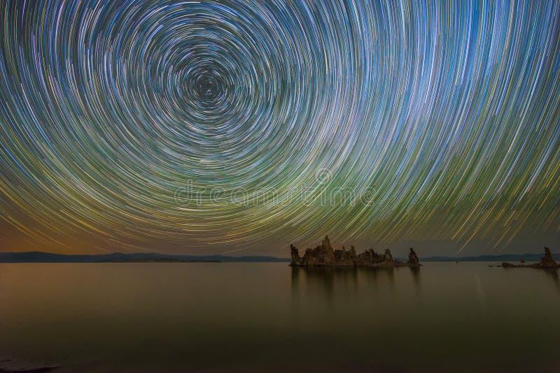 Mono fugas da estrela do lago fotos de stock
