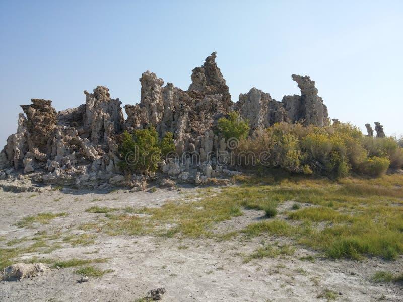 Mono Jeziornego Tufa stanu Naturalna rezerwa zdjęcie stock