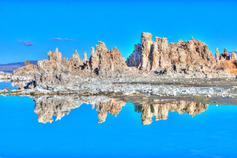 Mono Jeziorny Południowy Tufa obrazy royalty free