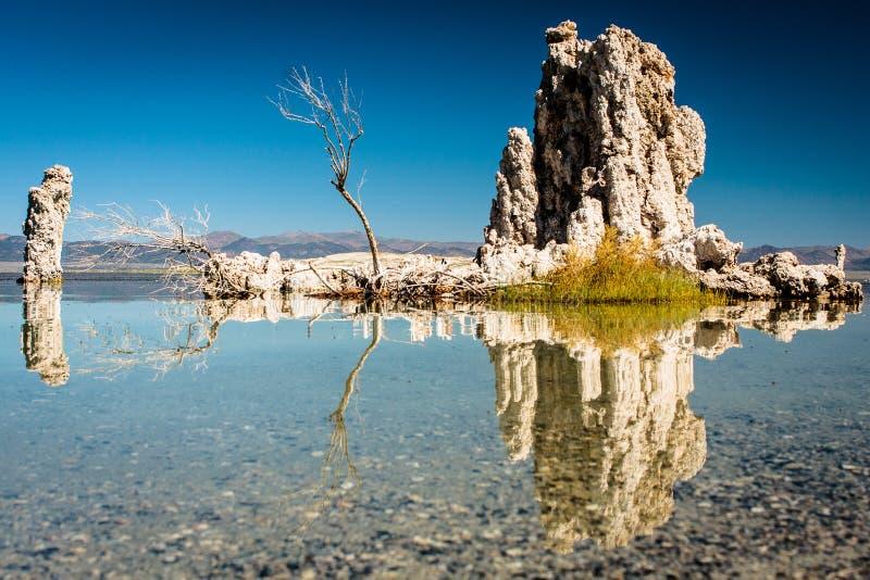 Mono lago imagens de stock