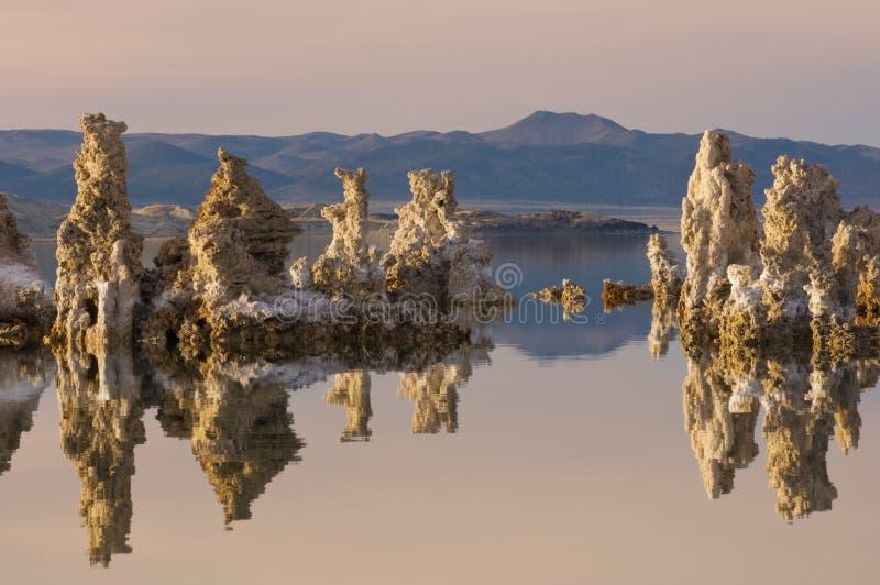 Mono lago fotografia de stock