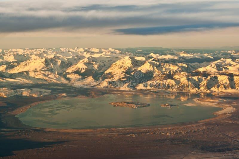 Mono lago Califórnia imagens de stock