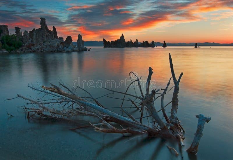 Mono lago Califórnia fotos de stock