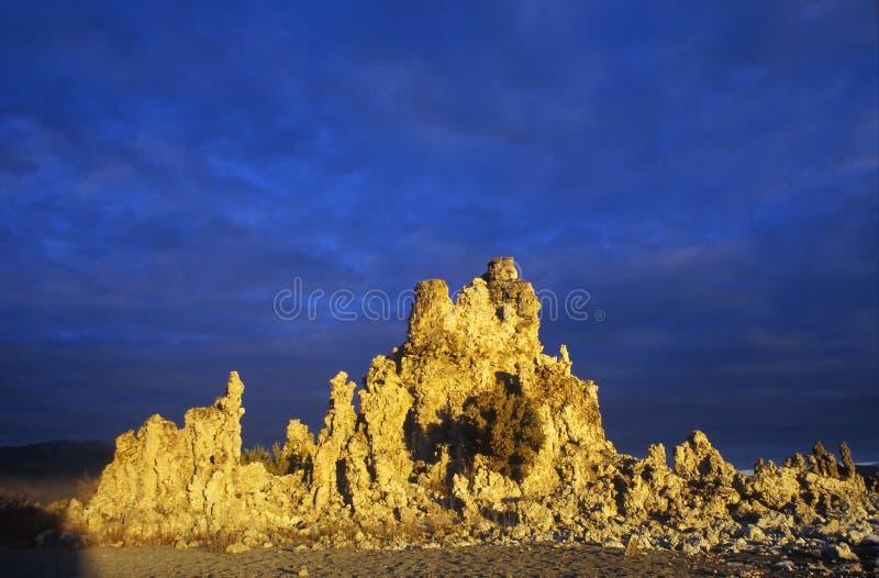 Mono lago, California fotografia stock libera da diritti