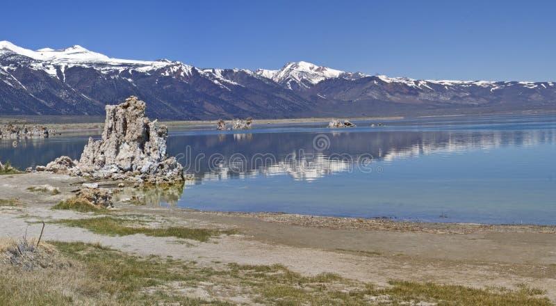 Mono lago. Panorama. fotografia de stock royalty free