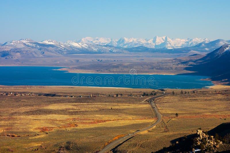 mono lake royaltyfri foto