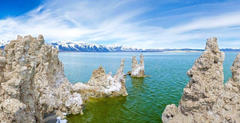 Mono Lake Monuments Royalty Free Stock Photo