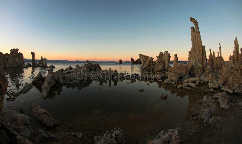 Mono Lake Tufas royalty free stock images