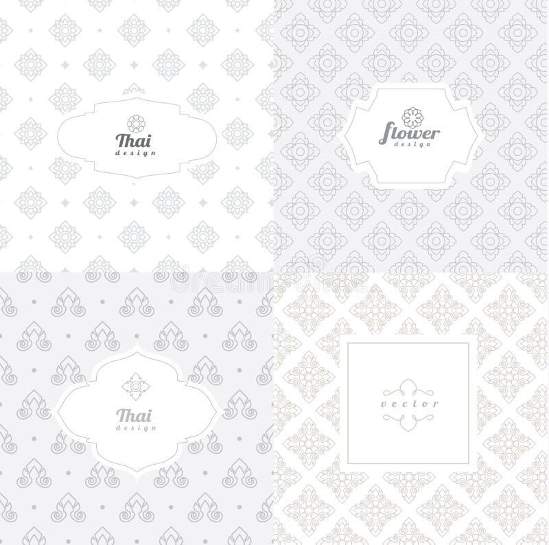 Mono linha moldes do vetor do projeto gráfico - etiquetas ilustração stock