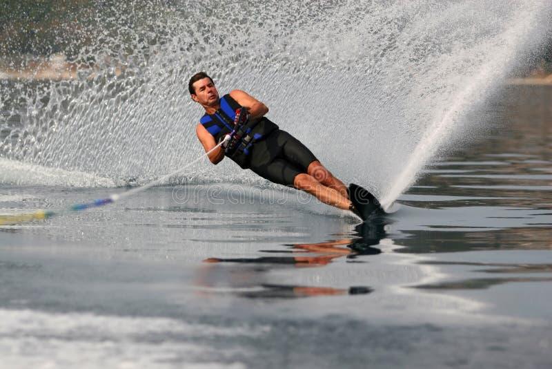 Mono ski nautico fotografia stock