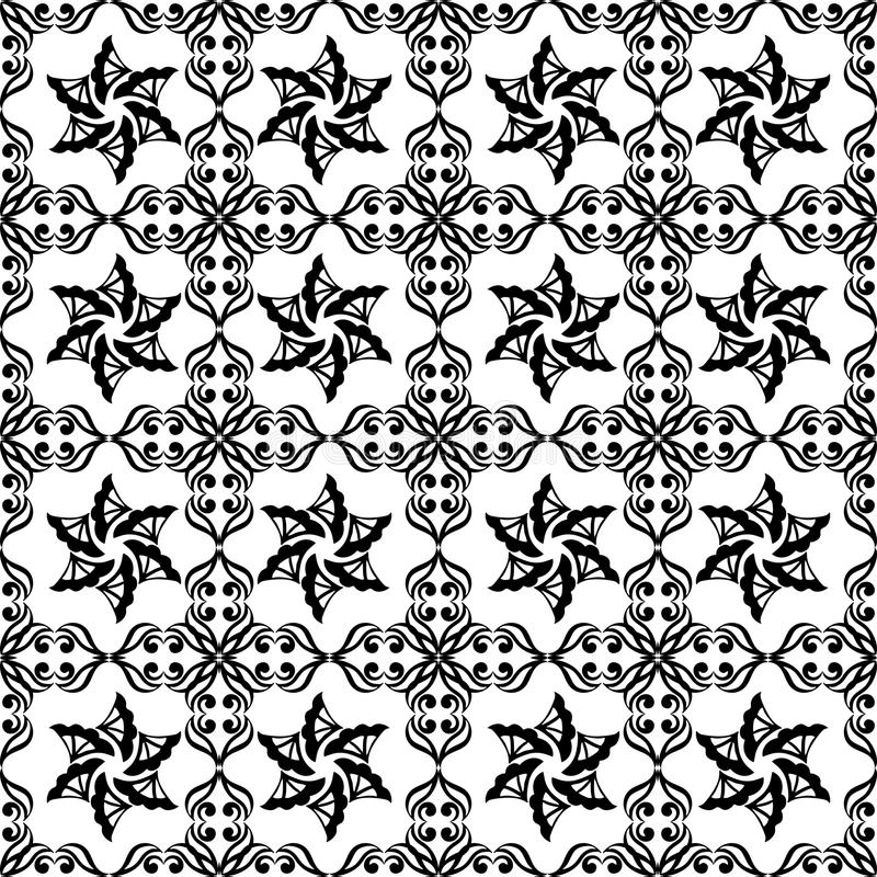 Monochrom repeted deseniowy projekt obrazy stock